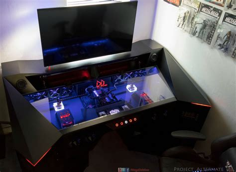 Custom Gaming Computer Desk 9 Amazing Pc Gaming Battle Stations
