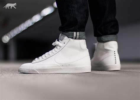 Nike Blazer Premium Vintage nike blazer mid premium vintage white white gum light