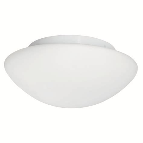 Small Flush Ceiling Lights by Searchlight Flush Ceiling Light White Opal Glass Small