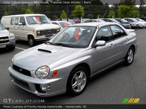silver subaru wrx interior platinum silver metallic 2002 subaru impreza wrx sedan