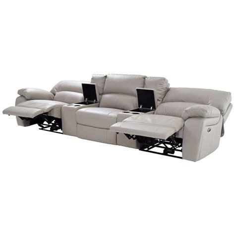 camillo gray home theater seating el dorado furniture