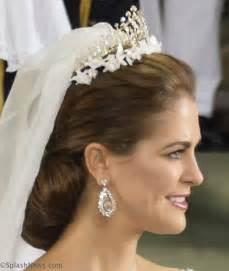 Prinzessin Madeleine Hochzeitsfrisur by Splash News