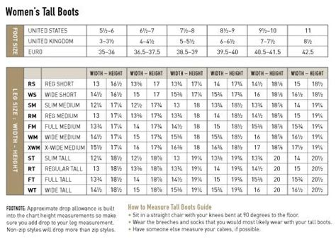 boot sizing ariat boots size chart boot 2017