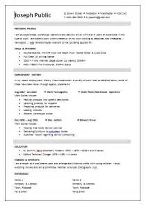 Uk Resume Template by Cv Templates Resume Cv