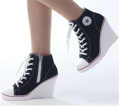 converse all high heels best 25 converse heels ideas on converse