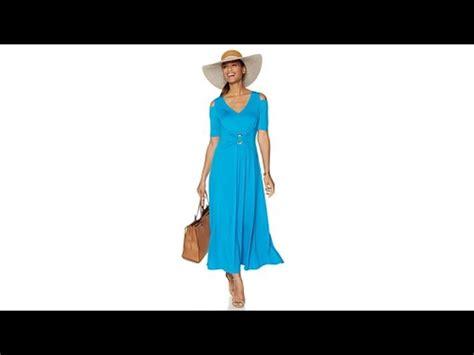 Russy Maxy Dress Hq liz lange coldshoulder ultimate maxi dress