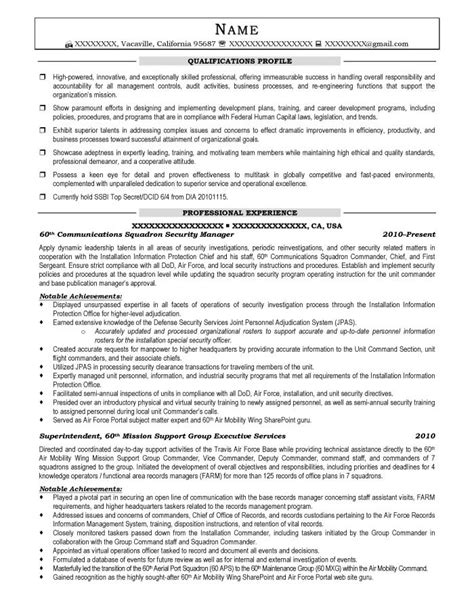 security manager resume sles transition resume sles resume prime
