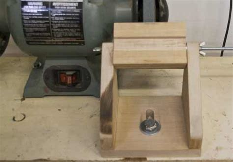 chisel sharpening jig bench grinder making a sharpening jig for holding chisels and bench