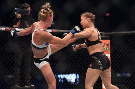 rond rousey wardrobe malfunction rousey holm