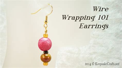 youtube tutorial wire wrapping wire wrapping 101 simple beaded earrings tutorial youtube