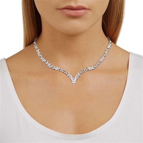 con swarovski collana donna gioielli swarovski diapason 5184273 collane