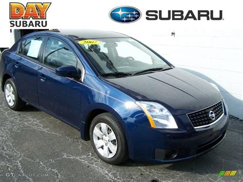 blue 2007 nissan sentra 2007 blue onyx metallic nissan sentra 2 0 4614697 photo