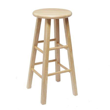 Bar Stools Walmart by Mainstays 24 Quot Fully Assembled Wood Barstool