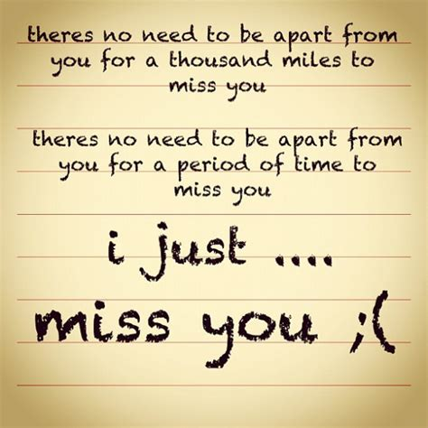 missing you quotes for him i miss you quotes for him and for quoteshunter