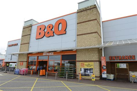 b q diy home improvement chain retail projects unit