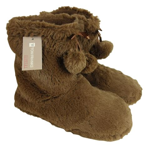 yeti slippers womens ankle boot slipper yetti winter yeti