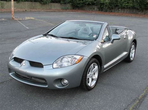 how things work cars 2007 mitsubishi eclipse spare parts catalogs 2007 mitsubishi eclipse spyder gs 2dr convertible 2 4l i4 5m in edmonds wa west coast autoworks