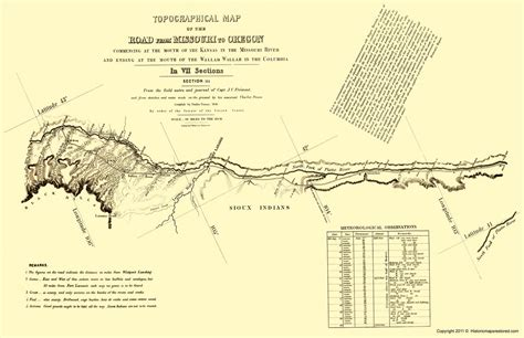 map of oregon trail in wyoming historical topographical maps oregon trail wyoming