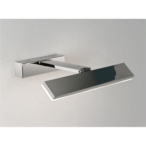Led Bathroom Mirror Light Astro Lighting 7009 Zip 3 Light Led Bathroom Mirror Wall Fitting In Polished Chrome Astro