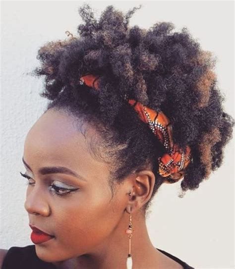 new afro hairstyles 75 most inspiring natural hairstyles for short hair in 2018
