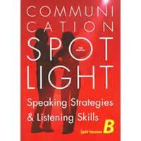 0007457839 speaking b intermediate cd audio communication spotlight speaking strategies listening