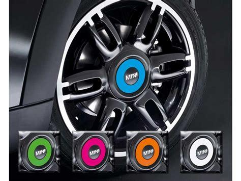 Punch V Tec In Black Color mini cooper hub caps in various colors oem set