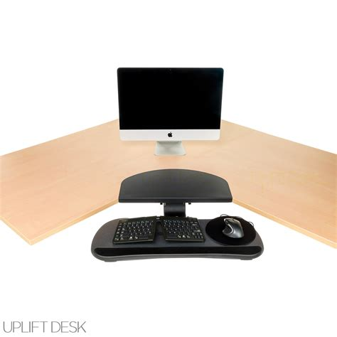 Desk Corner Sleeve Corner Desk Sleeve Hon Metal Corner Sleeve For Square Edge Desks Shop Uplift Corner Sleeves