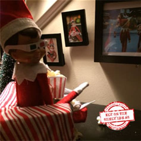 elf on the shelf movie night printable 3d movie night flat screen tv elf learn how to make