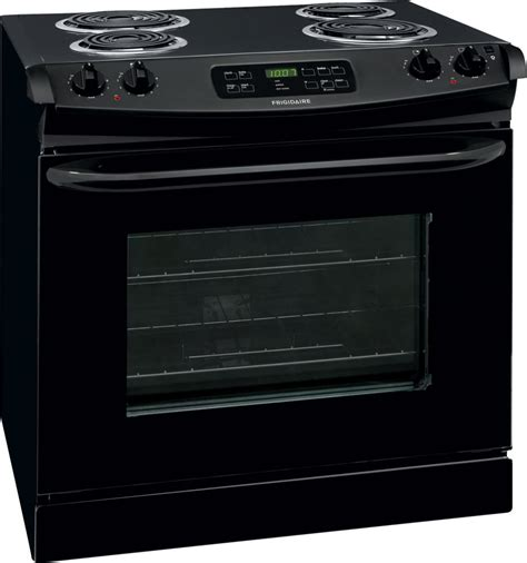 30 drop in frigidaire ffed3015pb 30 inch drop in electric range with