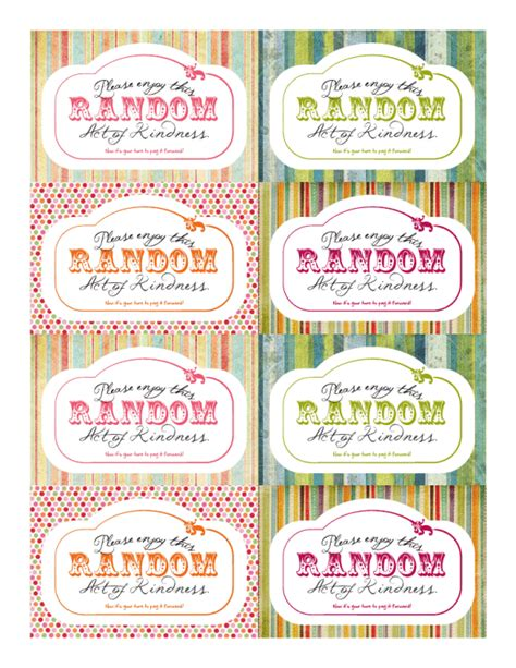 printable images of kindness random acts of kindness avad fan