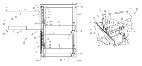 locking mechanism for chest of drawers patent us7901017 security file cabinet with self closing