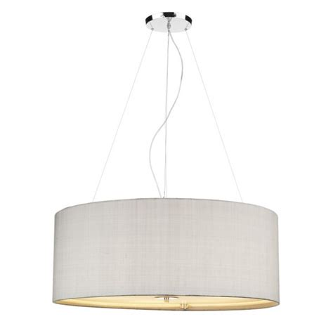 Grey Pendant Ceiling Light by Silver Grey Drum Shade Ceiling Pendant Light With Opal