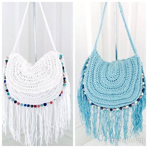 crochet bag pattern design festival crochet handbag tutorial by annoocrochet designs