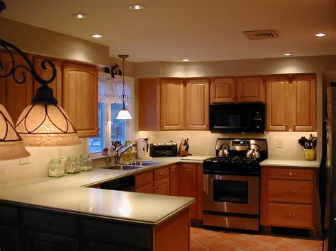 interior spotlights home kitchen lighting ideas for various kitchen designs