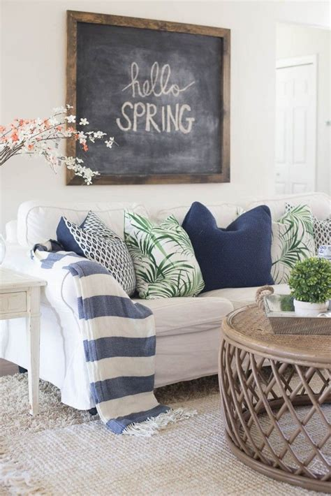 spring home decor 2017 15 living room spring decor ideas you can copy
