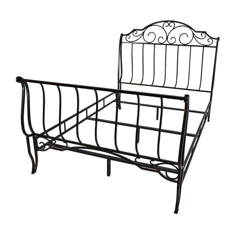 metal full bed frame 84 off tribeca home tribeca home bronze metal full size