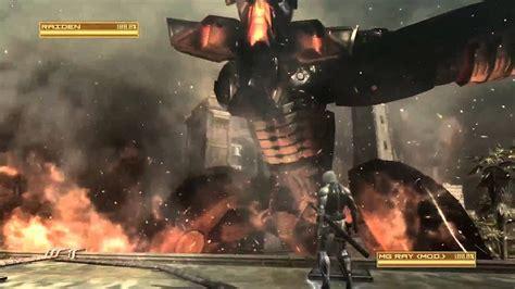 metal gear rising revengeance raiden  ray gameplay