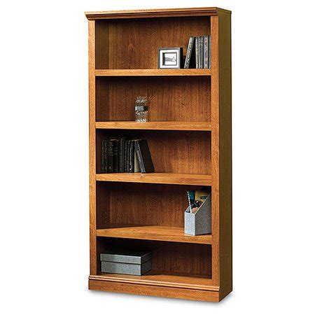 sauder robinwood 5 shelf bookcase atlantic oak walmart