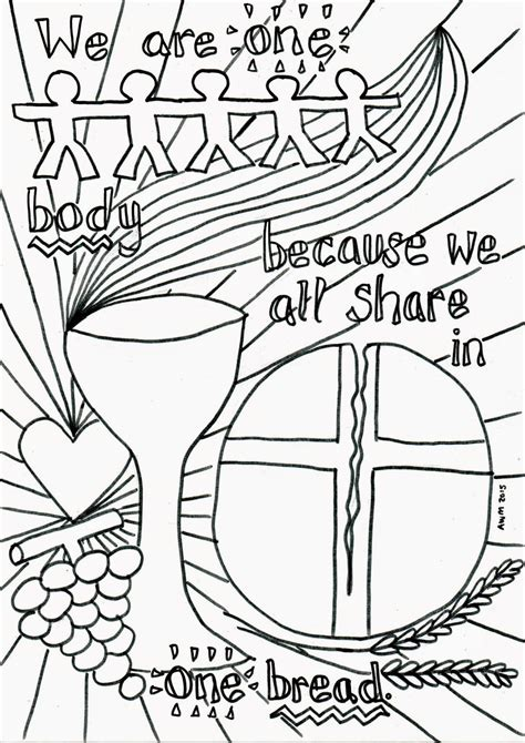 Flame Creative Children S Ministry Holy Communion Ministry To Children Coloring Pages