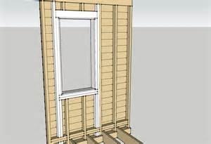window framing window installation planning two flat remade