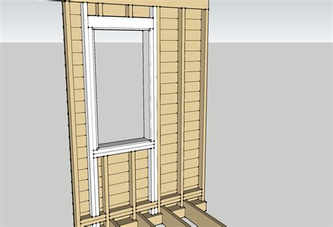 Window Framing by Window Installation Planning Two Flat Remade