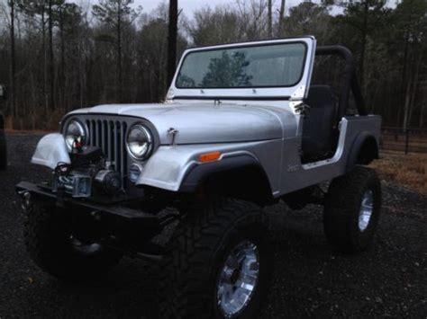 jeep renegade silver buy used jeeps cj7 razor silver restored on 37 s cj5