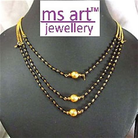 new pattern gold jewelry new janvi pattern gold plated mangalsutras at best prices