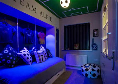 football themed bedrooms interior design leeds liverpool preston manchester cheshire