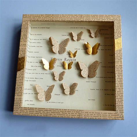 Handmade Paper Butterflies - handmade paper butterfly artwork by artstuff