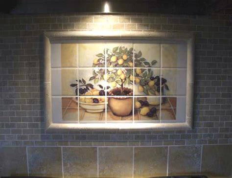 Kitchen Mural Backsplash Pics Photos Tile Mural Kitchen Backsplash Ideas Pictures Kitchen Backsplash Tile Installed