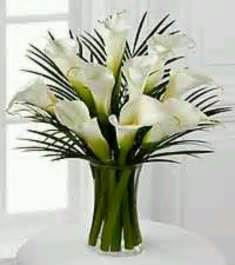 calla lily table arrangement arum calla lily pinterest