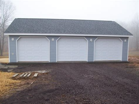 pictures of 3 car garages your garage solution delivery installation