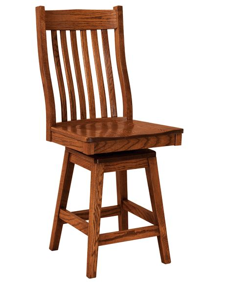 F N Amish Chairs Swivel Counter Height Stool Leather Counter Height Swivel Chairs