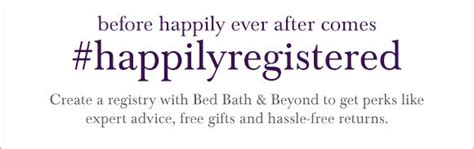 bed bath and beyond registry return policy david s bridal last week to win a 2 000 bed bath
